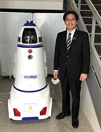 警備ができるロボット