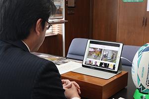 テーマは、「古賀市のチルドレンファーストを理念とするまちづくりと公立保育所におけるICTサービスの導入」