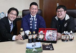 古賀市の郷土料理「鶏すき」がふるさと納税の返礼品に 記者発表