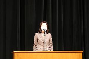 午前の部 開会のことば 古賀市人権尊重推進委員会第2部会 木部部会長