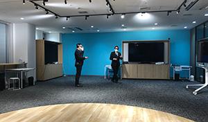 NTTドコモ九州支社「5GラボFUKUOKA」を訪問