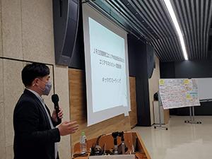エリアマネジメントを委託した木藤亮太氏