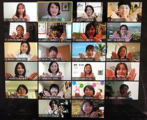 女性議員ネットワーク「WOMAN SHIFT」とのオンライン勉強会のようす1