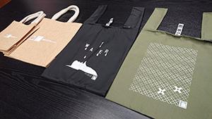 エコバッグのデザインは4種類