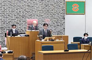 令和3(2021)年度の施政方針演説を行い、当初予算案など46議案を提案しました