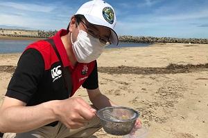 古賀海岸で回収
