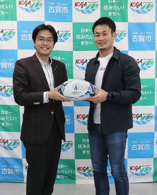福岡堅樹選手のラグビー日本代表選出について(市長コメント